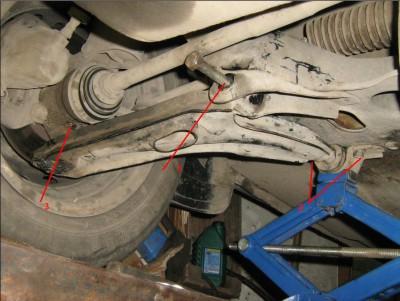 рычаг передней подвески фиат уно
